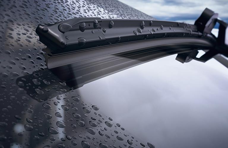 Windscreen with Rain Sensor